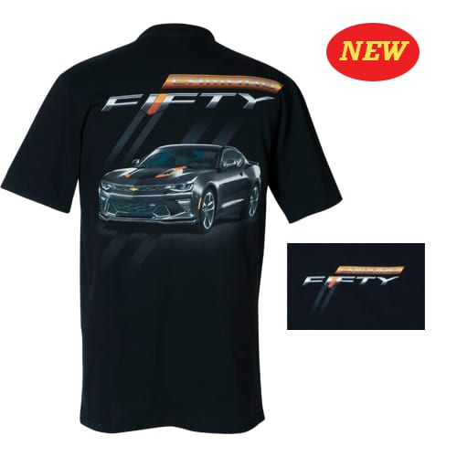 Chevrolet Camaro - Fifty Fiftieth (50th) Anniversary t-shirt
