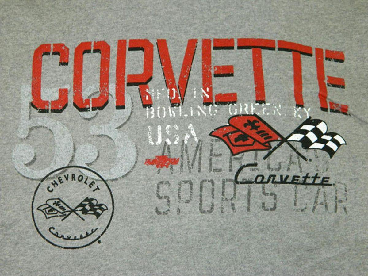 **Clearance** Chevrolet 1953 '53 C1 Corvette Hoodie Sweatshirt - America's Sports Car USA