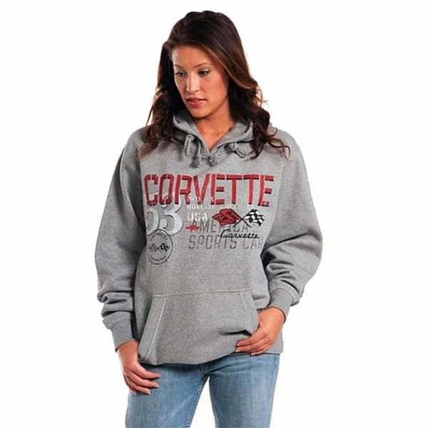 **Clearance** Chevrolet 1953 '53 C1 Corvette Hoodie Sweatshirt - America's Sports Car USA
