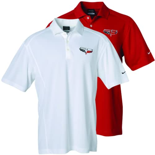 (Men's) Chevrolet C6 Corvette Polo - 60th Anniversary - Nike Dri-Fit