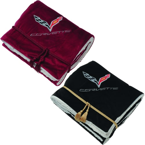 Chevrolet C7 Corvette Stingray Lamb's Wool Blanket