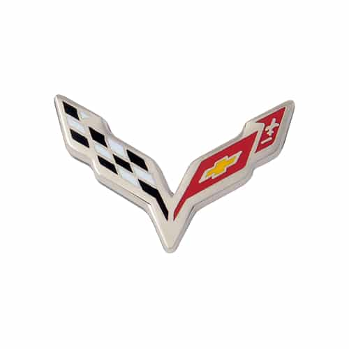 Chevrolet C7 Corvette Stingray Flag Emblem Flat Lapel Pin - Hat Pin