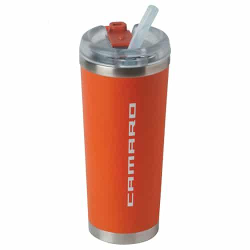 Chevrolet Camaro Brooklyn Thermal Tumbler - Orange - Retail gift box included