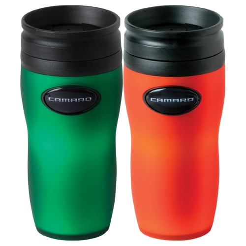 Chevrolet Camaro Insulated Travel Tumbler - Orange or Green