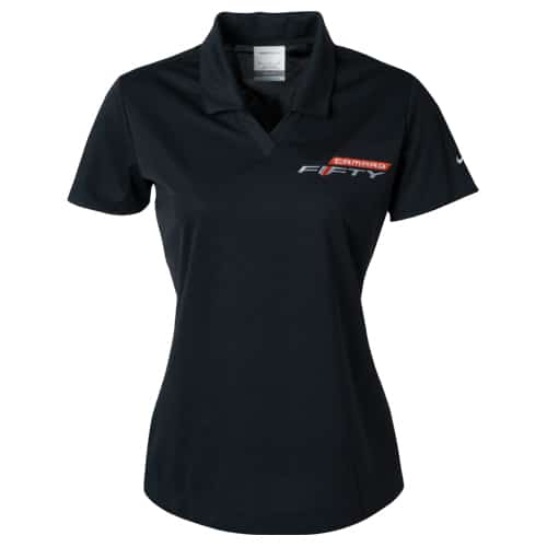 (Women's) Chevrolet Fifty Camaro polo - 50th Anniversary (fiftieth)