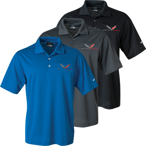Chevrolet C7 Corvette Stingray Grand Sport Polo - Nike Dri-Fit