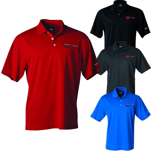 (Men's) Chevrolet Grand Sport Polo - Nike Dri-Fit