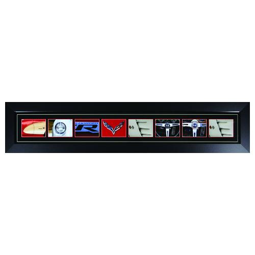 Chevrolet Corvette Word Art Sign - Made in the USA - C1, C2, C3, C4, C5, C6, C7