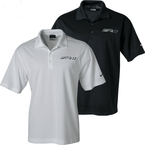 Chevrolet Corvette ZR1 - Nike Dri-Fit Polo - 2018 and 2019